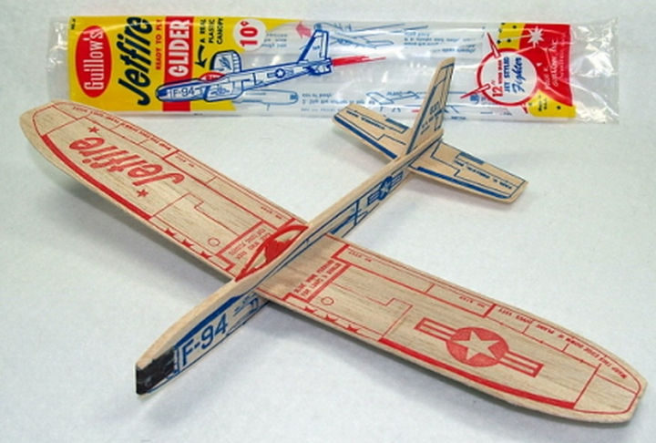 34 Things If You Grew Up in the 60s or 70s - Balsa gliders only cost 10 cents and it was worth every penny.