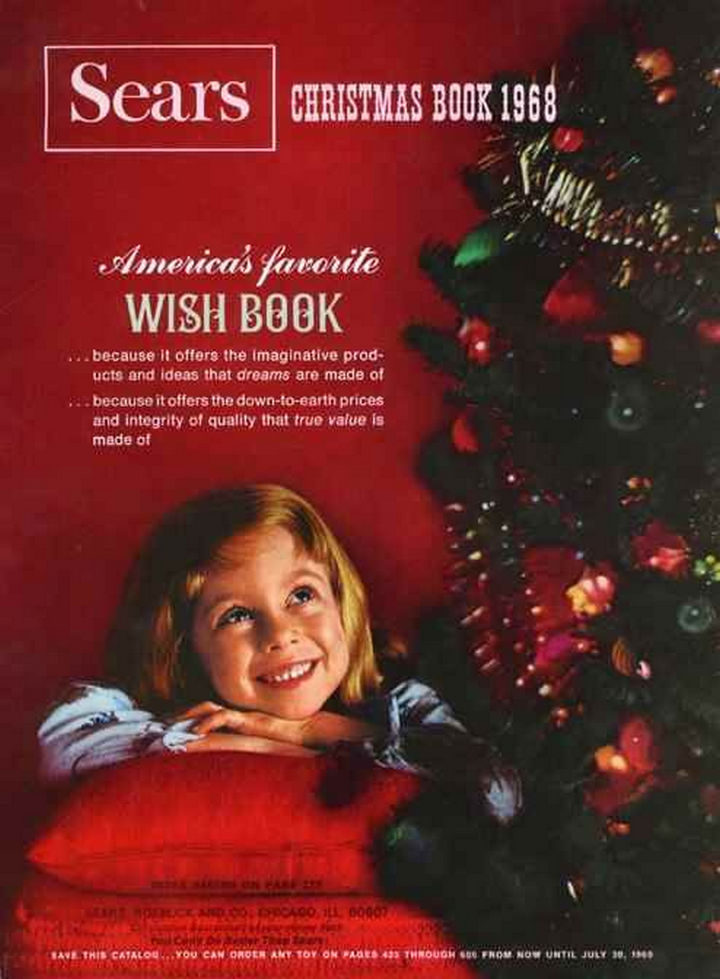 34 Things If You Grew Up in the 60s or 70s - You knew Christmas was right around the corner when you got your hands on the Sears Christmas Wish Book.