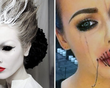 37 Scary Face Halloween Makeup Ideas You'll Want to Try.