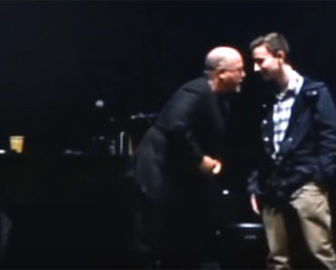 Billy Joel Invites Student Michael Pollack to Join Him on Stage.