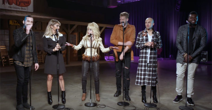 Dolly Parton & Pentatonix Perform A Capella Version Of Jolene..