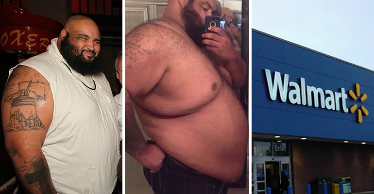 He Shed 300 Pounds by Walking to Walmart Everyday.