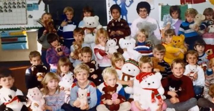 Newscaster Met With His Kindergarten Teacher, Lorly Schik, After 30 Years.