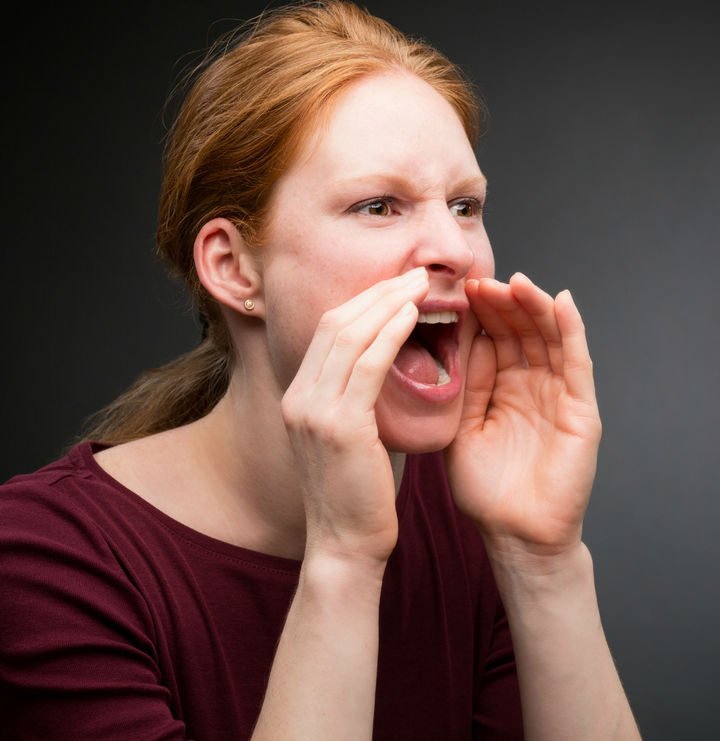 17 Self-Defense Tips - Scream and shout if in danger.