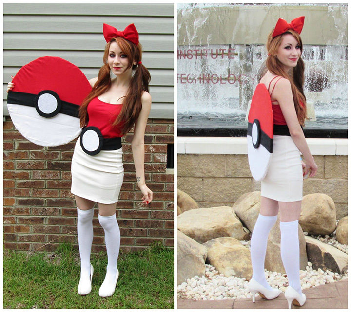 20 Pokémon Costumes for Halloween - Be the Poké Ball.