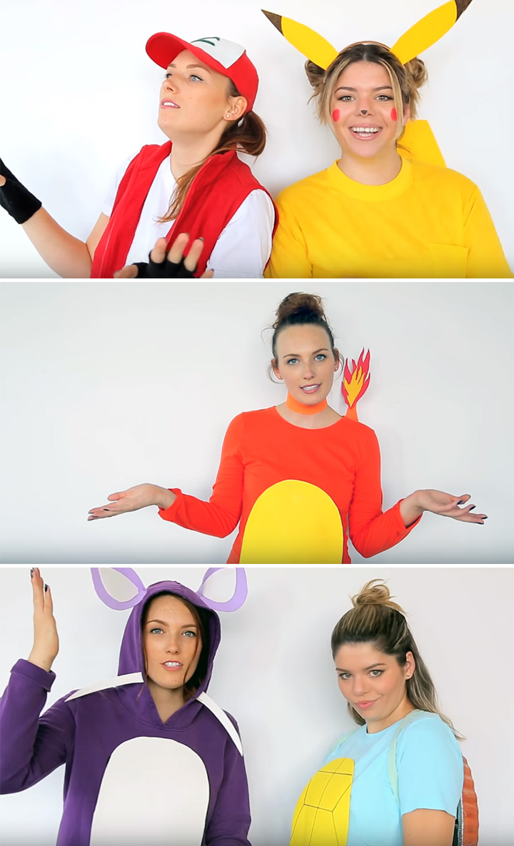 20 Pokemon Costumes For Halloween That Are Super Effective Updated