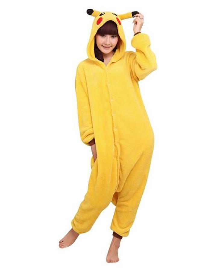 20 Pokémon Costumes for Halloween - Pikachu Onesie.