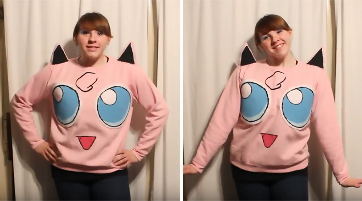 20 Pokémon Costumes for Halloween - Jigglypuff costume.