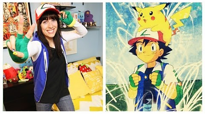20 Pokémon Costumes for Halloween - Ash Ketchum DIY Costume.