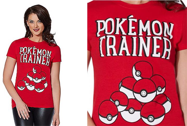 20 Pokémon Costumes for Halloween - Pokémon Trainer T-Shirt.