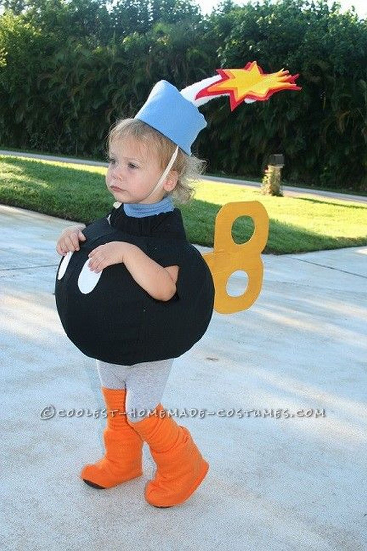23 Super Mario and Luigi Costumes - Isnu0027t this the cutest Bob-omb  sc 1 st  Winkgo : mario brothers family costumes  - Germanpascual.Com