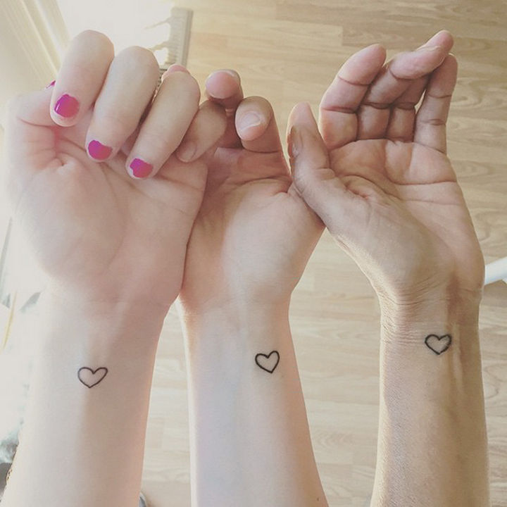 28 Sister Tattoos Sharing the Loving Bond Between You and Your Sister