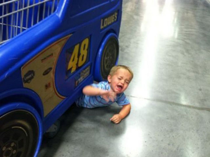 30 Reasons Why Kids Are the Worst - They're helpless.