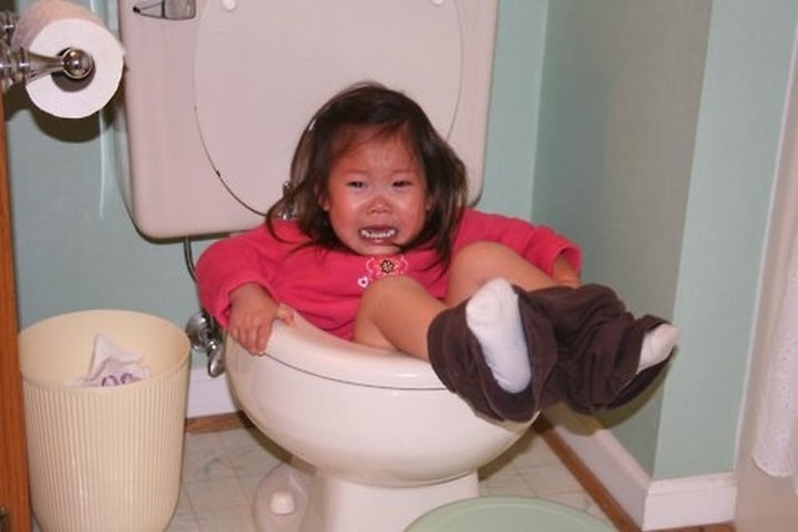 30 Reasons Why Kids Are the Worst - They always smell weird.