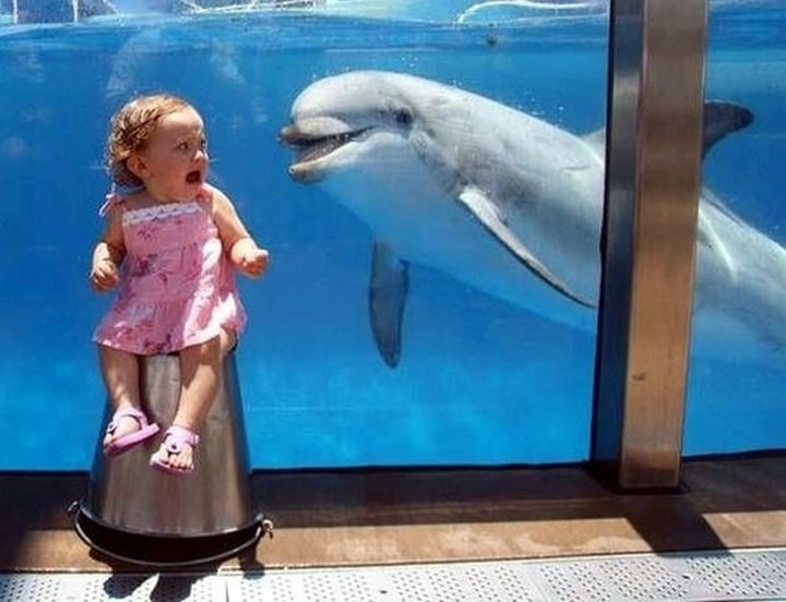 30 Reasons Why Kids Are the Worst - They're afraid of the friendliest animals.