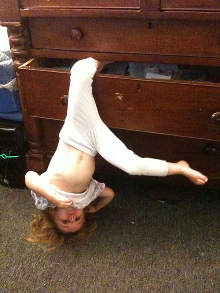 30 Reasons Why Kids Are the Worst - They find ways to get stuck in everything.