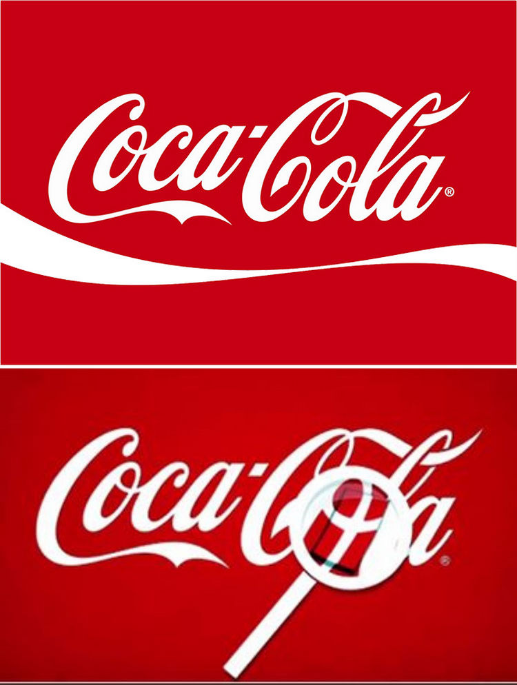33 Famous Company Logo With Hidden Messages - Coca-Cola logo hidden meaning.