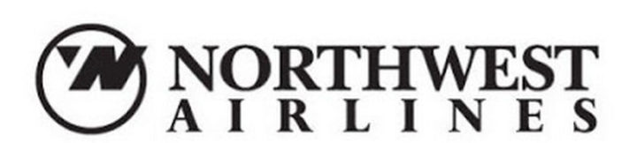 33 Famous Company Logo With Hidden Messages - Northwest Airlines logo hidden meaning.