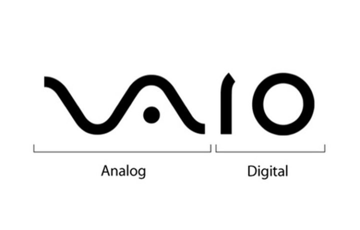 33 Famous Company Logo With Hidden Messages - Vaio logo hidden meaning.