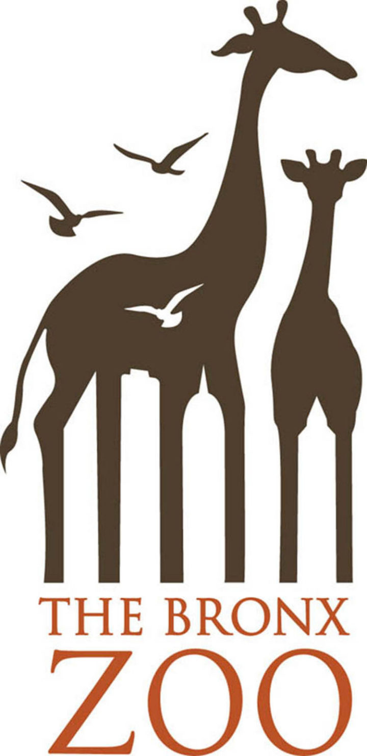 33 Famous Company Logo With Hidden Messages - The Bronx Zoo logo hidden meaning.