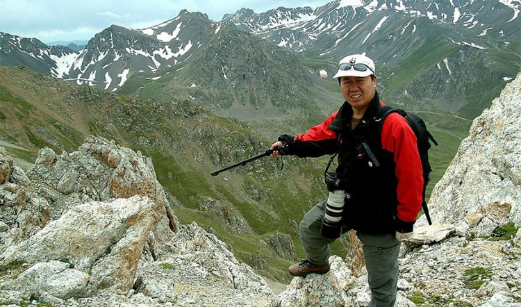 Conservationist Li Weidong first discovered the Ili Pika species in 1983. He has retired early to dedicate his life to studying and preserving their population.