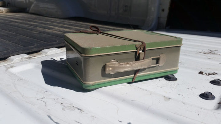 He couldn't believe this tiny metal box would contain so much money. He also contacted his lawyers to determine who the rightful owner would be and was glad to know he could keep the money. It will help pay off his mortgage and he couldn't be happier.