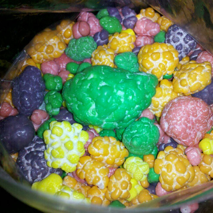13 Factory Rejects - A bag of rejected Nerds candy never looked so gross.