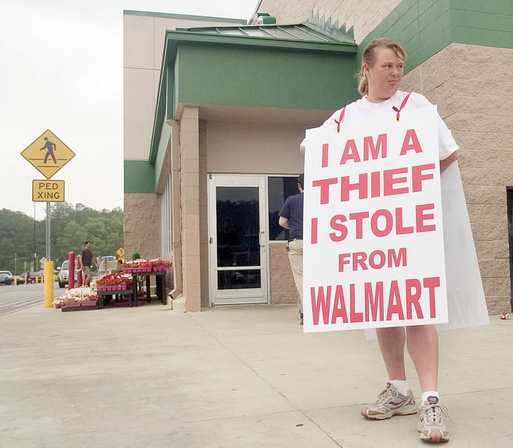 19 Funny Karma Images - What's worse than getting shamed by Walmart for stealing? Getting your photo on the internet is infinitely worse.