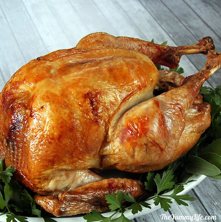 20 Top Pinterest Thanksgiving Recipes - Step-by-Step Guide to The Best Roast Turkey.