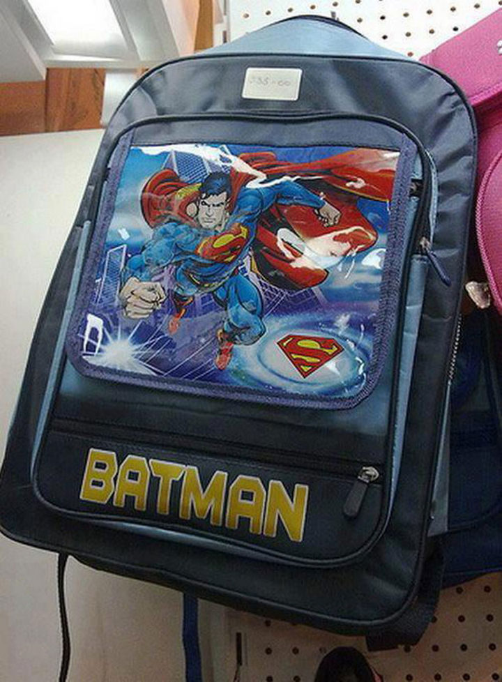 25 People Who Simply Had One Job - How can you confuse Superman for Batman?