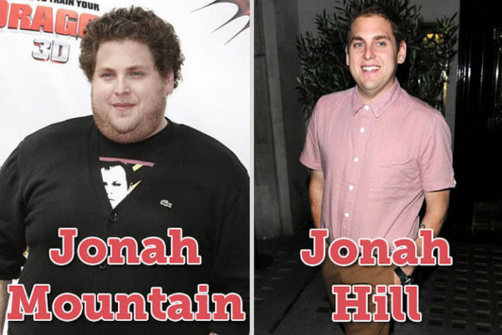 55 Hilariously Funny Celebrity Name Puns - Jonah Hill.