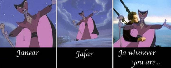 55 Hilariously Funny Celebrity Name Puns - Jafar.