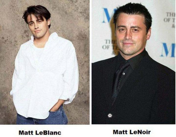 55 Hilariously Funny Celebrity Name Puns - Matt LeBlanc.