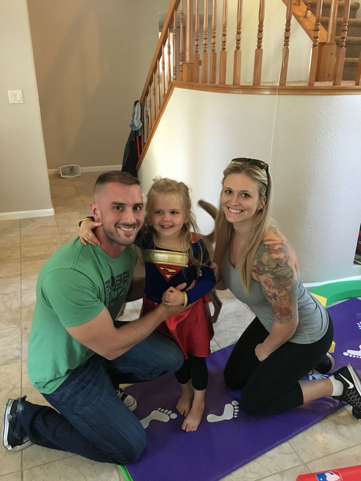 The Steinbach family has one adorable little girl and this trio will not let anything get in the way of their happiness.