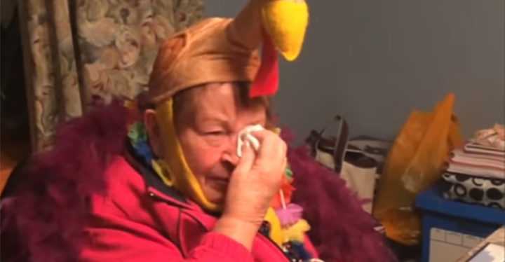 83-Year-Old Grandma Boop's Reaction to Macy's Parade Birthday Gift.