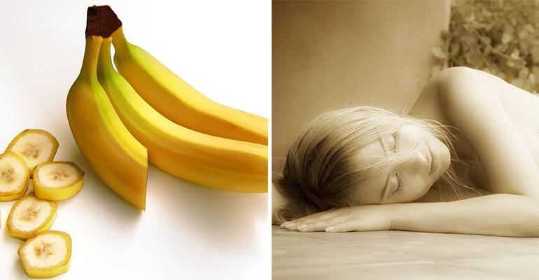 A Banana Cinnamon Tea Recipe for a Restful Night's Sleep.