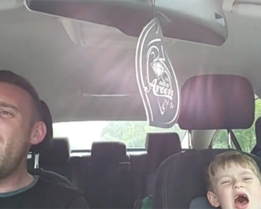 Father and Son Sing Frank Sinatra's Me and My Shadow in the Car.