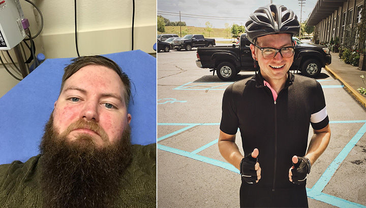 Before and After Weight Loss Photos of People Who Quit Drinking - 6 Months Sober.