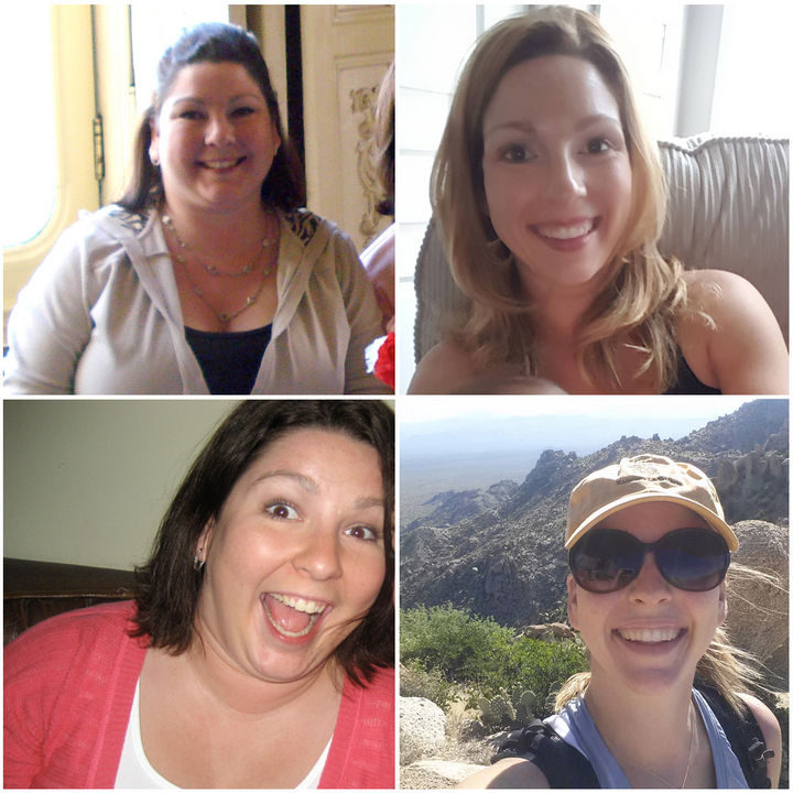 Before and After Weight Loss Photos of People Who Quit Drinking - 5 Years Sober.