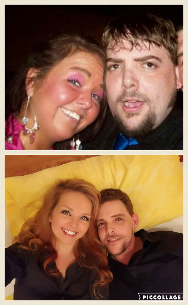 Before and After Weight Loss Photos of People Who Quit Drinking - Over 3 Years Sober Together!.