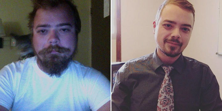 Before and After Weight Loss Photos of People Who Quit Drinking - 1.5 Years Sober and 120 lbs Weight Loss!.