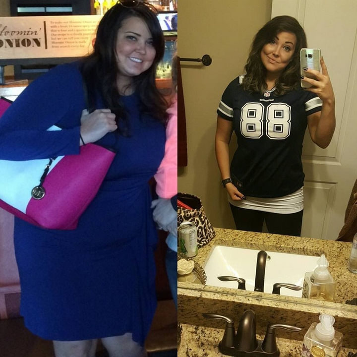 Before and After Weight Loss Photos of People Who Quit Drinking - 8.5 Months Sober and 35 lbs Weight Loss!