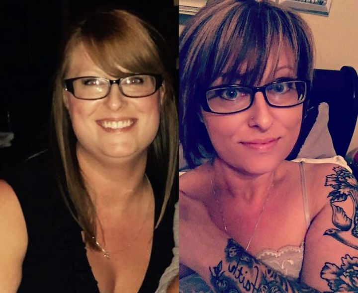 Before And After Weight Loss Photos Of People Who Quit Drinking 234 Days Sober