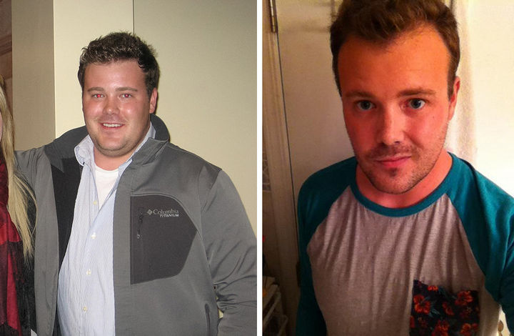 Before And After Weight Loss Photos Of People Who Quit Alcohol