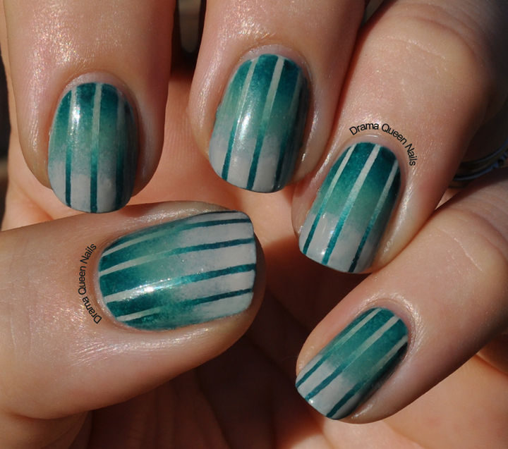 18 Reverse Gradient Nails - You'll be glad you tried reverse gradient nails when you try these beauties.