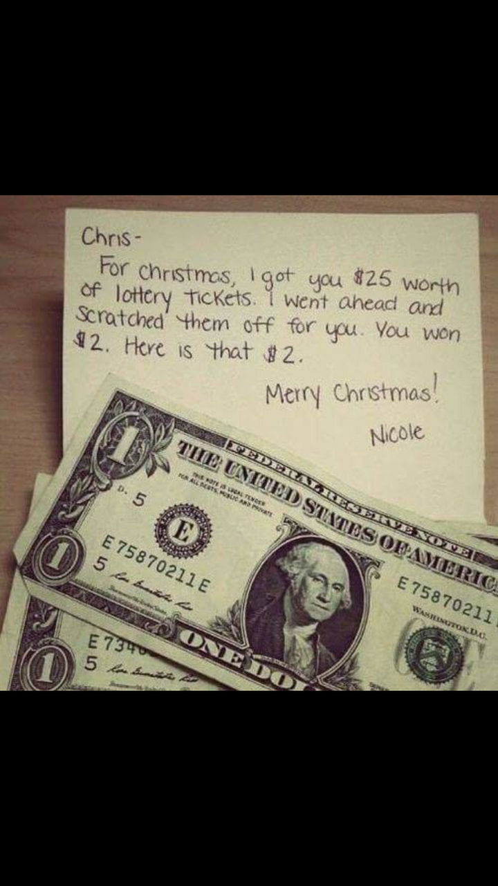 22 People Feeling the Pinch at Christmas - Very thoughtful, indeed.