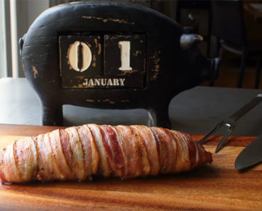 Bacon-Wrapped Pork Tenderloin Recipe Makes a Delicious Mini Porchetta.