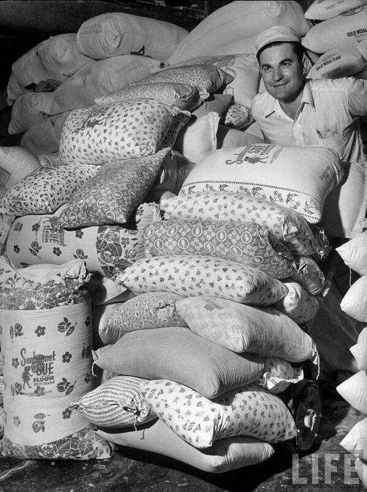 During the 1930s, Flour Sacks Were Printed With Patterns. The Reason Why Blew Me Away...