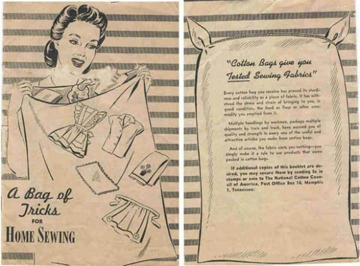 DIY guides were also prevalent in the 1930s but it wasn't a trend and more of a necessity for many families.