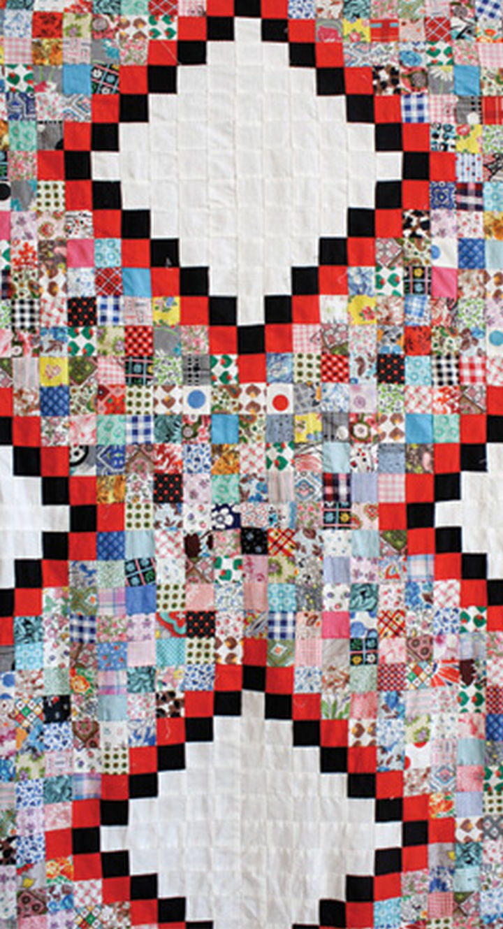 When children outgrew their clothing, mothers would use the fabrics again to make quilts and blankets.